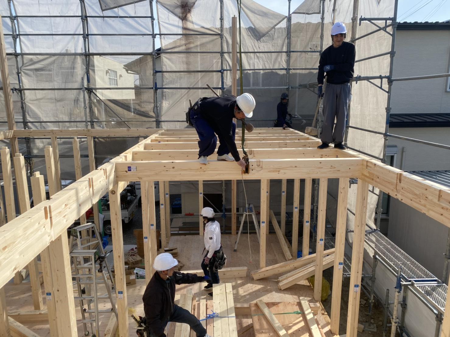 新築工事の主な流れ