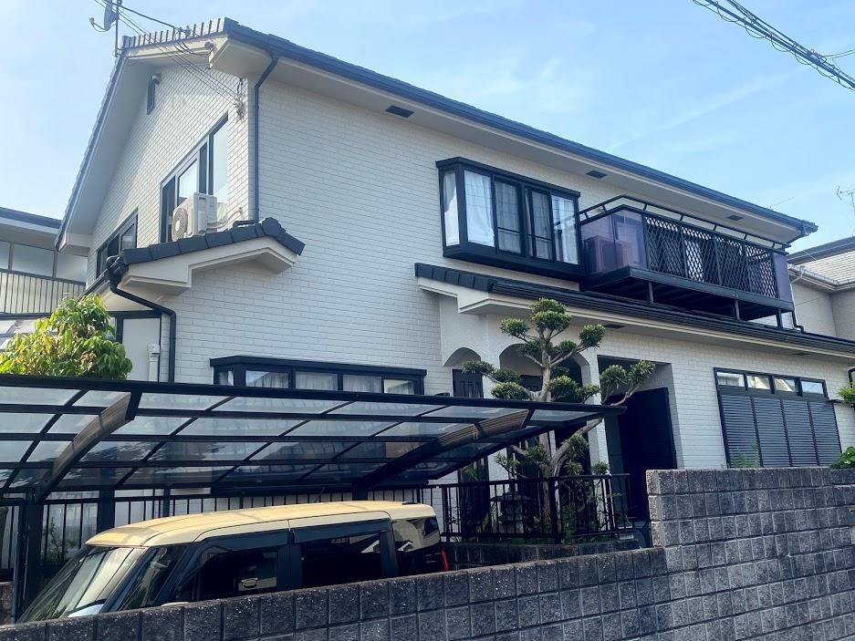 屋根葺き替え/外壁塗装